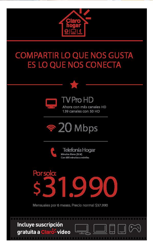 Información 3 Play Tv Básica, internet 50MB y Telefonía ilimitada
